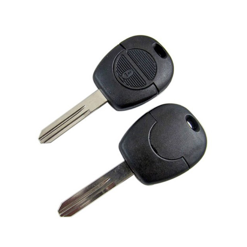 Auto Replacement Parts 2 Button Remote Key Fob Case Replacement Shell Uncut For Nissan Micra Almera Primera Xtrail