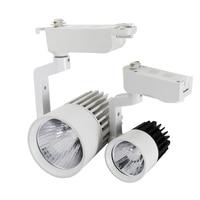 COB LED Track Light 30W Tracks Lamp Bulb 30 Watt Indoor Kitchen Home Lighting 85V~265V With White Shell CE ROHS Track Lights