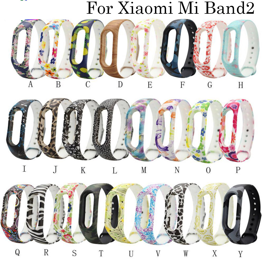 Sport Silicone Wristband Watch Band Or Xiaomi Band 2 Smart Watch Pedometer Replacement Multiple Colour Band For Xiaomi Band 2