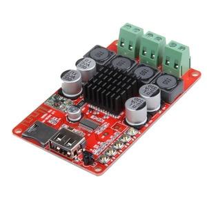 Image 4 - TPA3116 Bluetooth Ontvanger 50W * 2 Digitale Audio Versterker Board Tf Card U Disk Speler Fm Radio Met Afstandsbediening contro I 2 001