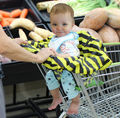 Supermarket  Shopping Cart Baby Seat Cover Baby Shopping Cart  Cushion Baby Clean Protective Nylon Material