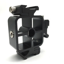 Camera Accessories 3 Triple Head Hot Shoe Mount Adapter Flash Holder Bracket Light Stand holder for Canon/Nikon/Pentax/Olympus(China)