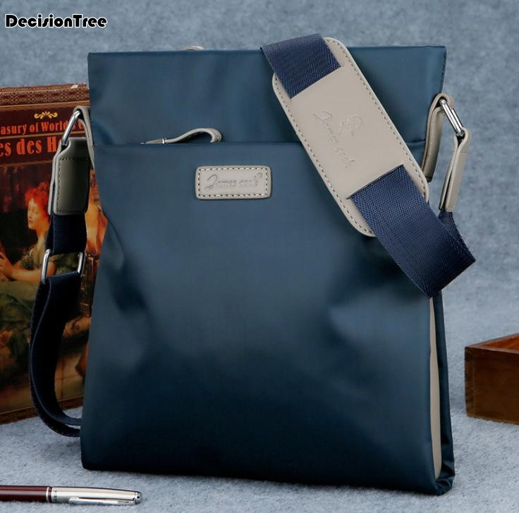 Casual Fashion Shoulder Briefcase Modern Style Men All-match Commuter Bag Exquisite Mens Work Cloth Bags Bolso Hombre C108