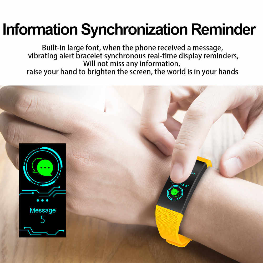 2019 Waterproof Smart Watches Men Women Heart Rate Monitor Blood Pressure Fitness Tracker Smartwatch Sport Watch for ios android