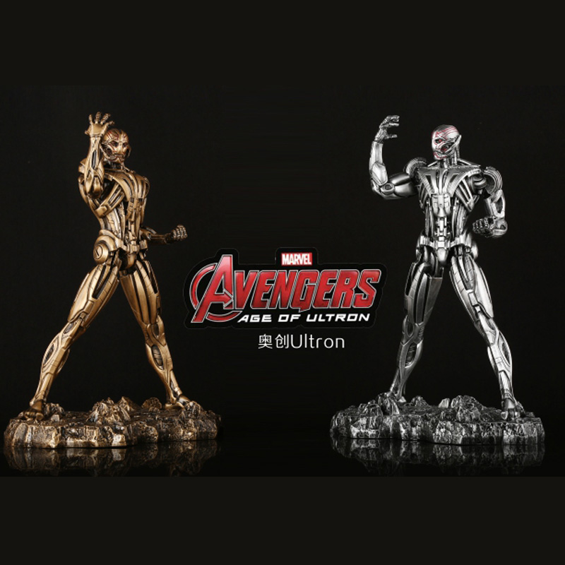 High Quality 1/6 Scale Avengers Ultron Resin Action Figure Collectible Model Statue Collections 1 6 scale avengers age of ultron wanda scarlet witch full set action figure war version for collections