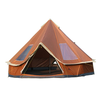 Ultralarge 5 8 Person Family Size Mongolia yurt Tent for Travel Hiking Waterproof Sun Shelter Tent Outdoor Camping Winter Tents