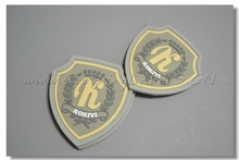 3D PVC rubber label, custom clothing labels with high quality, PVC tag for your quality reference.