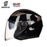 GXT шлем мотоциклетный открытый шлем ABS мотоцикл Электрическая безопасность двойные линзы Moto Casque Casco Moto для женщин/мужчин