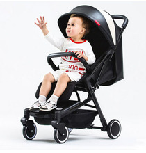 Bébé Poussette Ultra Lumière Peut Être Couché Ordinateur Portable Couvert Pliage Mini Quatre Roues Chariot Des Enfants