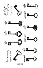 Rocooart HC151-175 Waterproof Fake Tattoo Styling Tools Stickers Snake Pistol Black Feather Temporary Tattoos Body Art Tattoo 53