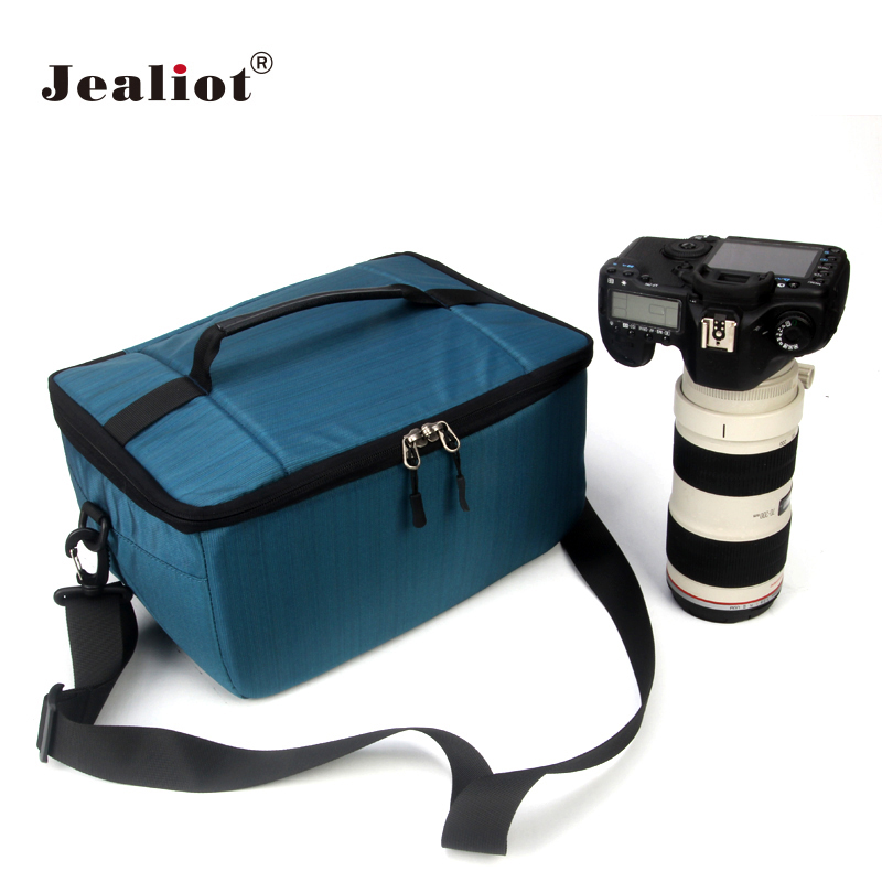 Jealiot DSLR SLR Camera Bag Fashion Shoulder Bag lens Storage bag Case for Canon Nikon Sony FujiFilm Olympus Panasonic Camere