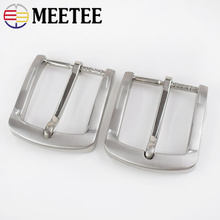 2Pcs Belt Buckles For Men Fashion Metal Pin 33-34mm Waistband Head DIY Leather Craft Accessories