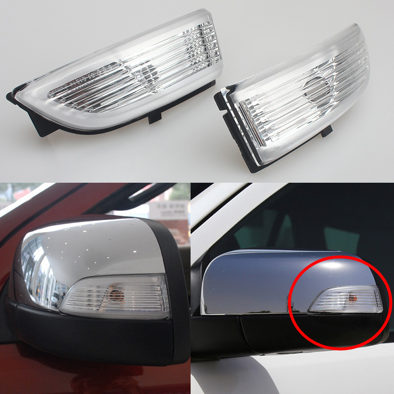 2Pcs LED Side Rear View Mirror Light For Ford Everest Ranger 2012 2013 2016 2017 Turn Signal Light Lamp Rearview Mirror Lights