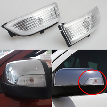 2Pcs LED Side Rear View Mirror Light for Ford Everest Ranger 2012 2013 2016 2017 Turn Signal Lamp Rearview Lights