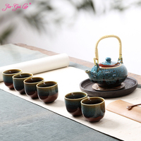 Jia gui luo Chinese Kung Fu tea sets are inexpensive and understand culture