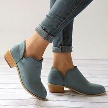 купить!  2019 мода новый стиль лодыжки туфли на высоком каблуке женская стекаются противоскользящие скольжени