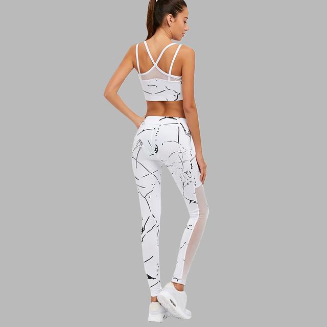 White Elegant Fitness Set
