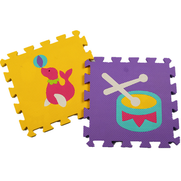 circus Childrens soft developing crawling rugs,baby play eva foam puzzle mat,pad floor for baby games 30*30*1cm mat for kids