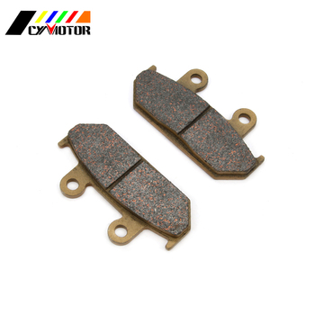 Motorcycle Front Brake Pads For HONDA RS 125 250 CBR750 VFR750 CBR1000 CD GB VTZ 250 NV400 NX500 XL VT 600 NX XRV 650 GL1500 image