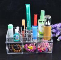 Fashion Acrylic Cosmetic Case Clear Makeup Organizer Jewelry Gift Box