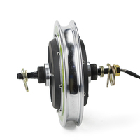 0.3 Wheel Electric Brushless Non Gear Hub Motor For 12inch Rear Front Wheel Engine Electric Scooter Bicycle Ebike E car Kit Part