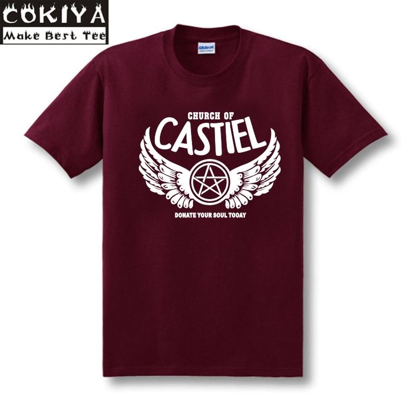 ECTIC MISHA COLLINS 캐주얼 T 셔츠 SUPERNATURAL 8 컬러 사이즈 XS-XXL MENS WOMENS 유니섹스 탑 티
