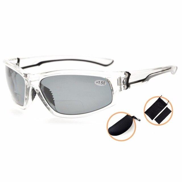 87a36e2efc945 Eyekepper TH6199 Bifocais Esportes Unbreakable TR90 Óculos De Leitura Bifocal  Óculos de Sol + 1.0