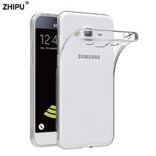 d05a4563f89 Caso para Samsung Galaxy J1 J3 J5 J7 2016 TPU funda de silicona  transparente duradero de