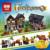 Lepin16011 Nuevo 1601 Unids Mercado Medieval Village Blcoks construcción Ladrillos Juguetes 10193