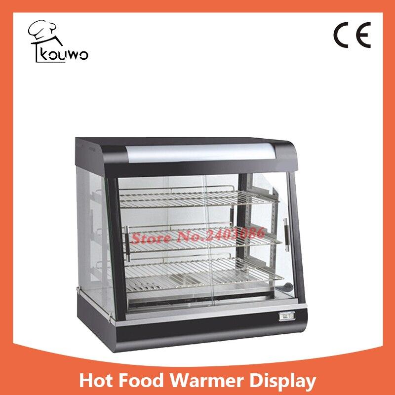 Hot Food Warmer Display/display Showcase,High Quality Curve Glass Food Warming Showcase,High Quality Food Warming Showcase 1 2m food warmer displayer cheaper warming showcase for sale
