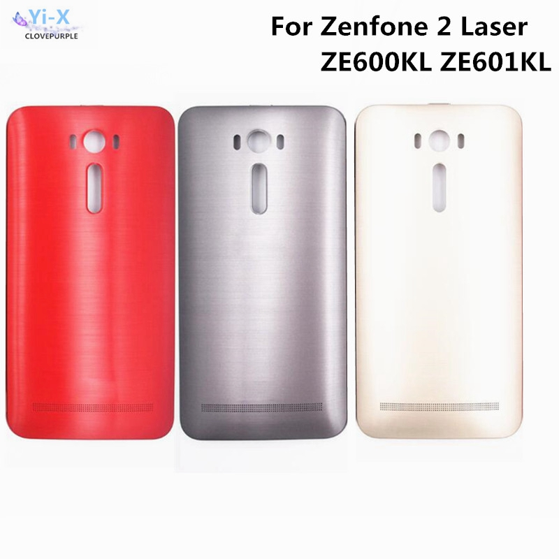 Back Battery Cover Housing Door For ASUS Zenfone 2 Laser ZE600KL ZE601KL Z011D Back Battery Cover Case image