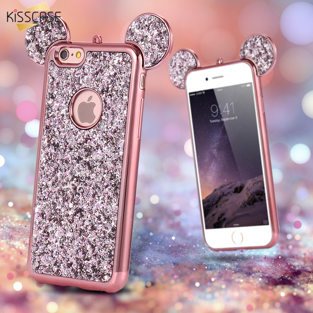 kisscase  iphone  luxury gradient glitter case