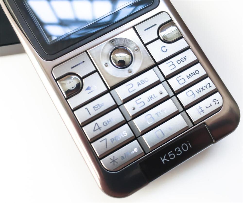 Refurbished phone Original Sony Ericsson K530 Unlocked Cell Phone 2MP Camera Bluetooth red 8