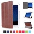 Magnetic pu caso capa de couro para Samsung Galaxy Tab S2 8.0 T710 SM-T715 T715 8 '' tablet Case capa + protetor de tela