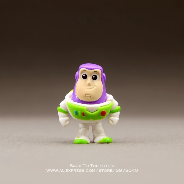 Disney Toy Story Woody Buzz Lightyear 3-4cm Action Figure