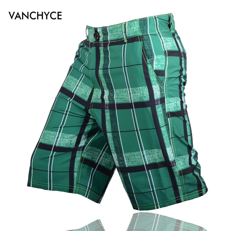 VANCHYCE Summer Beach   Shorts   Men   Shorts   Men   Board     Shorts   Brand Swimwear Men Bermuda   Short   Quick Dry Silver Mens Boardshorts