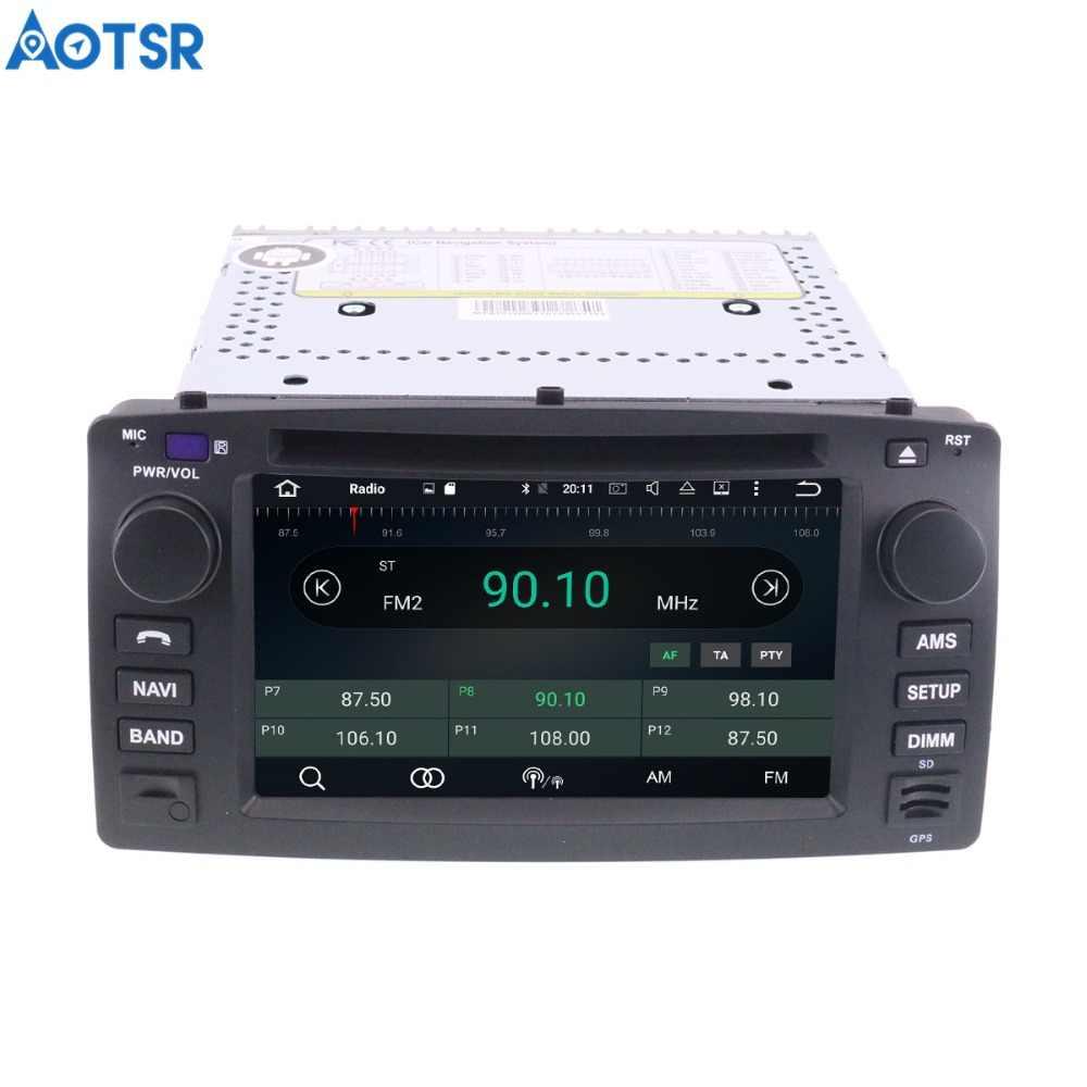 Aotsr الروبوت 8.1 GPS والملاحة سيارة مشغل ديفيدي لتويوتا كورولا EX 2001-2006 الوسائط المتعددة راديو مسجل والملاحة