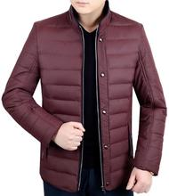 Men's Clothing Thickening Cotton-padded Jacket Wadded Jacket Male Autumn And Winter Slim Winter Cotton-padded Jacket Outerwear,