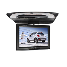 Hot sale 9 inch bus/car/taxi TFT LCD roof Mounting AV Monitor for DC 36V dual video inputs beige/gray/black SH981