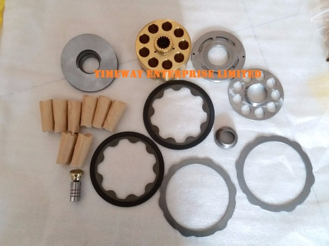 Pièces de moteur de pompe à huile hydraulique | GM08 pour komatsu