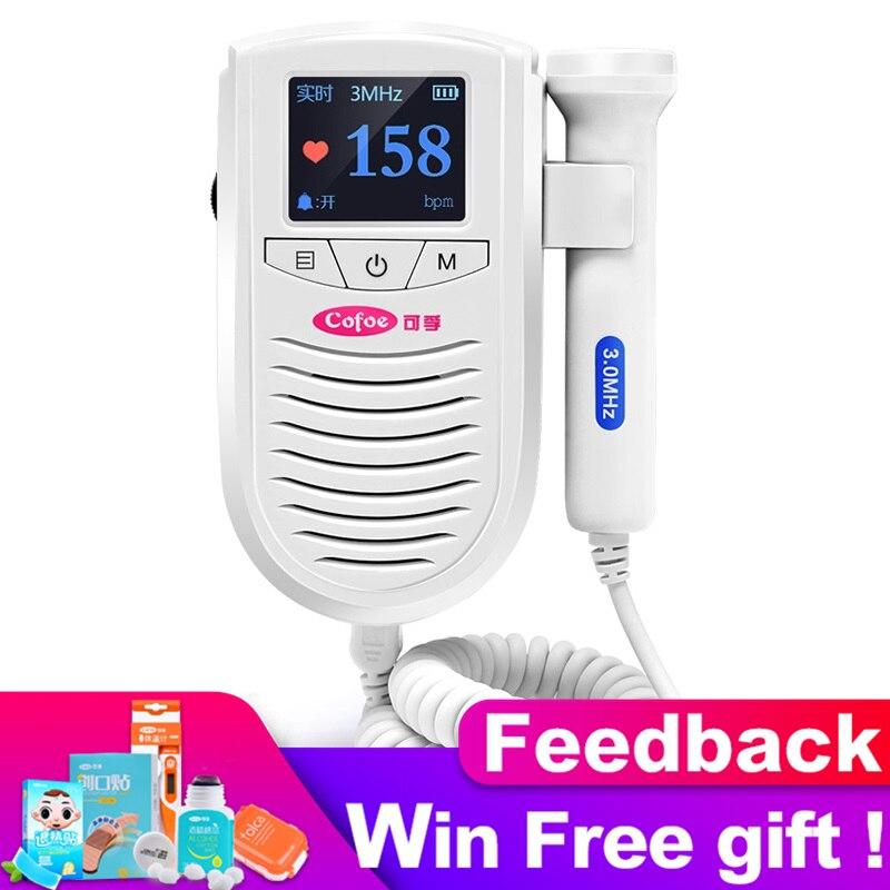 New Arrival! Cofoe Doppler Fetal Baby Heart Rate Detector With 3Mhz Waterproof Probe Medical Ultrasound Pregancy Doppler in 2019New Arrival! Cofoe Doppler Fetal Baby Heart Rate Detector With 3Mhz Waterproof Probe Medical Ultrasound Pregancy Doppler in 2019