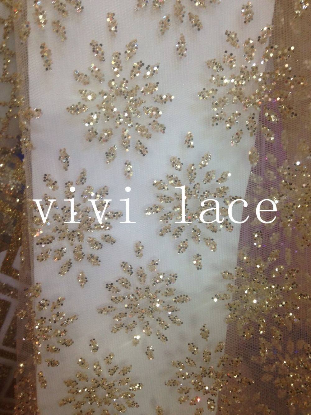 Wedding Girl Wallpaper 5yards Hl794 Champagne Gold Glued Glitter Sparkle African