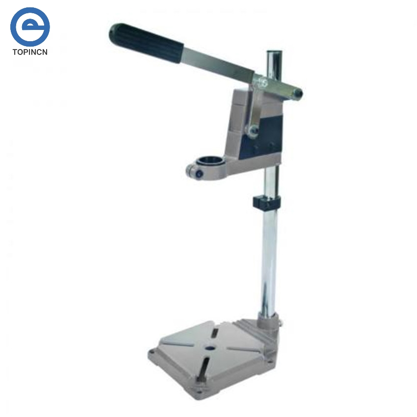 New Arrival Drill Bench Press Stand Tool Workbench Pillar Pedestal Clamp For Drilling Collet On