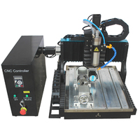 JFT factory price high precision mini cnc router 3030 4 axis rotary axis 1500w  engraving machine  for metal
