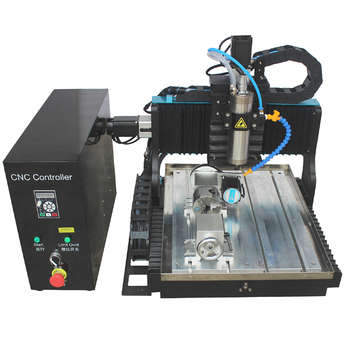 JFT factory price high precision mini cnc router 3030 4 axis rotary 1500w  engraving machine for metal