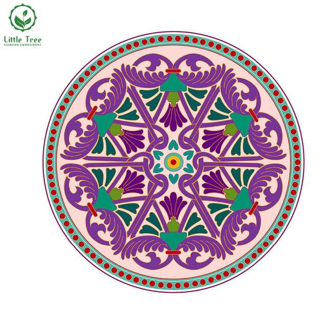 Novelty DIY Diamond Painting Religion India Handicraft & Art Diamond Needlework Crystal Embroidery Pattern Patchwork Religion