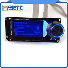 Type B mini 12864 Display MINI12864 V2.1 LCD Screen RGB backlight White Support Marlin DIY With SD Card For SKR 3D Printer Parts