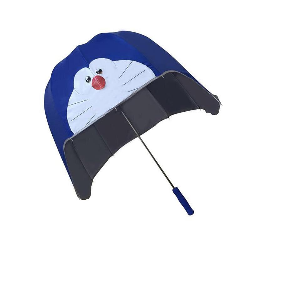 Enfants pluie parapluie créatif Uv soleil haute qualité dessin animé Tube Kitty ombre parapluie paraguay Infantil outils 50D0056
