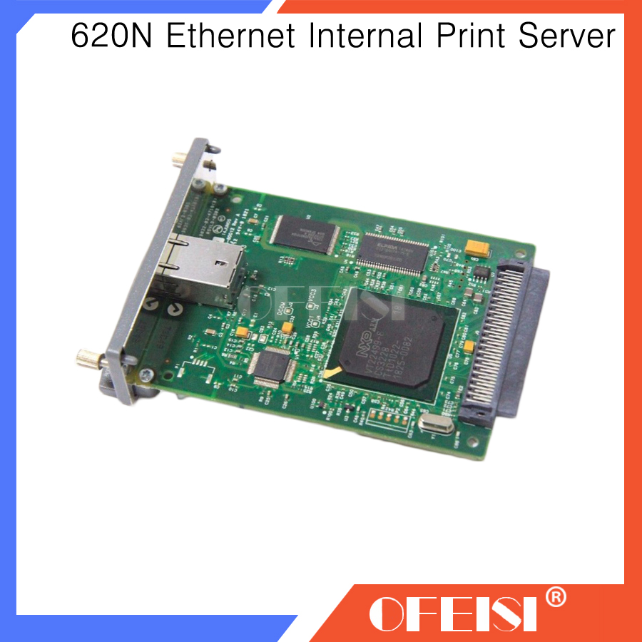 95% new Original JetDirect 620N J7934A J7964G Ethernet Internal Print Server Network Card for laserjet DesignJet Plotter printer