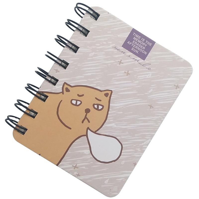 Kawaii Cute Carton 80 listů Papír Denní plánovač týdnů - Bloky a záznamní knihy - Fotografie 2